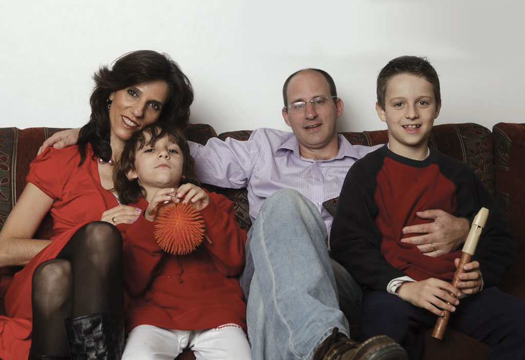 תמונה של משפחתה של ענת