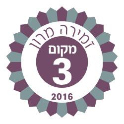 סמל מקום 3 לשנת 2016