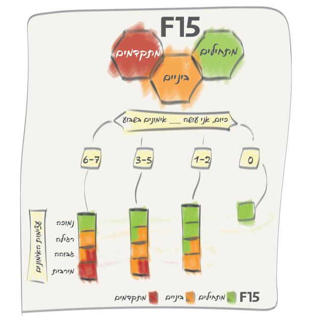 תרשים זרימה לבחירת F15