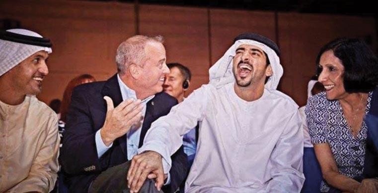 תמונה מהכנס בדובאי
