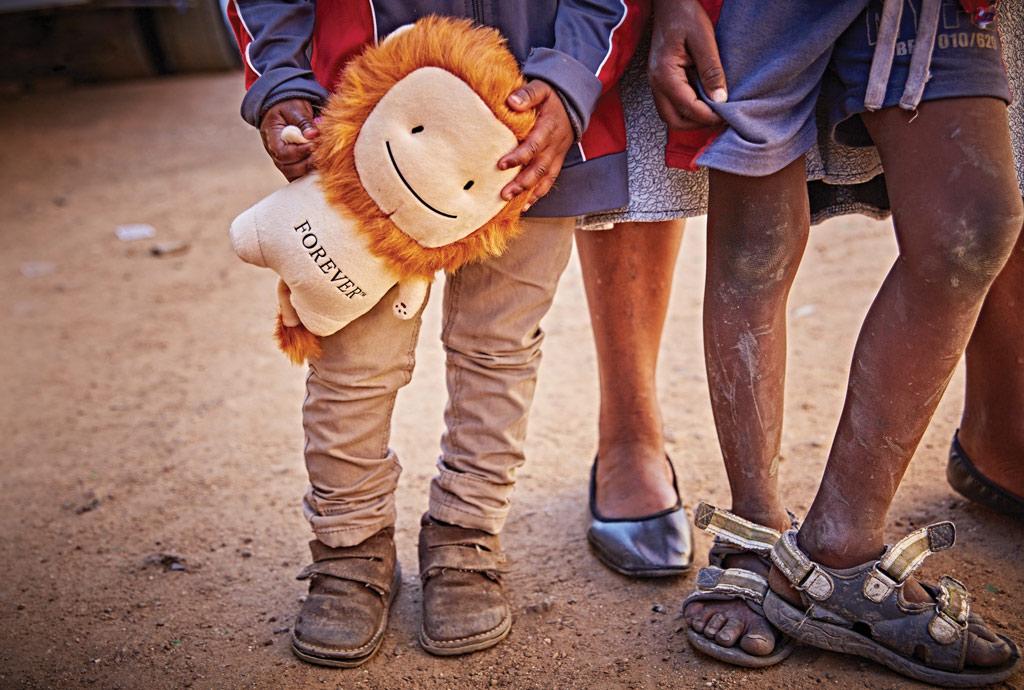 תמונה של ילדים באפריקה